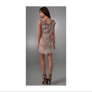 Alice + Olivia Charlie Embellished Ombre Dress